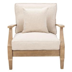Martinique - 31.4 Inch Wood Patio Armchair