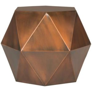 Astrid - 21 Inch Faceted Side Table