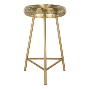 Addison - 24 Inch Wire Weaved Contemporary Counter Stool
