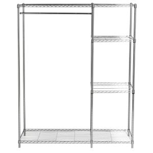 Betsy - 59.06 Inch Wire Adjustable Garment Rack