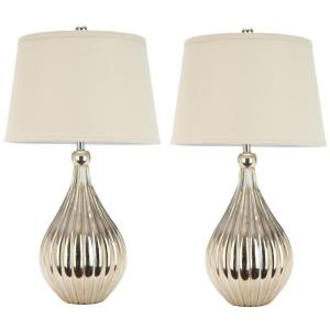 Elli - Two Light Gourd Table Lamp (Set of 2)