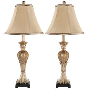 Patrizia - Two Light Urn Table Lamp (Set of 2)