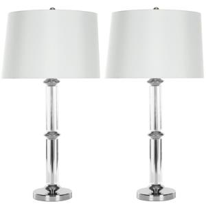 Vendome - Two Light Crystal Table Lamp (Set of 2)