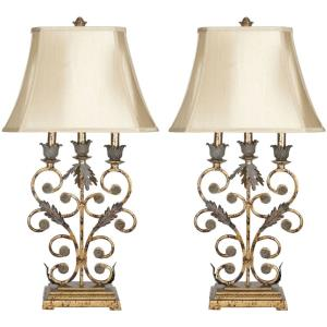 Lucia - Two Light Table Lamp (Set of 2)