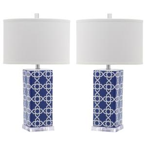 Quatrefoil - Two Light Table Lamp (Set of 2)