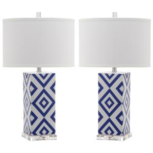 Diamonds - Two Light Table Lamp (Set of 2)