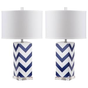 Chevron - Two Light Stripe Table Lamp (Set of 2)