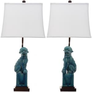 Foo - Two Light Dog Table Lamp (Set of 2)