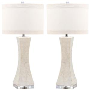 Shelley - Two Light Concave Table Lamp (Set of 2)