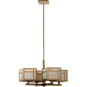 Craftsman - Four Light Adjustable Chandelier