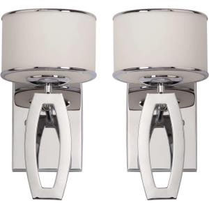 Lenora - One Light Drum Wall Sconce (Set of 2)