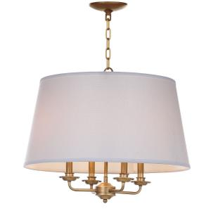 Kimball - Four Light Adjustable Pendant
