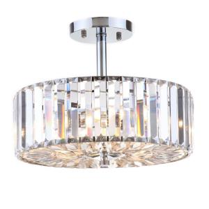 Ariel - Three Light Flush Mount
