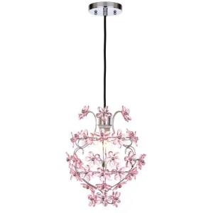 Raz Floral - One Light Pendant