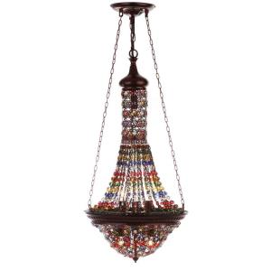 Moroccan Gentle - Seven Light Pendant