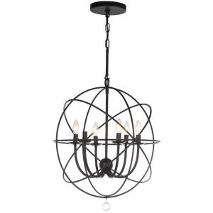 Evie - Six Light Adjustable Chandelier