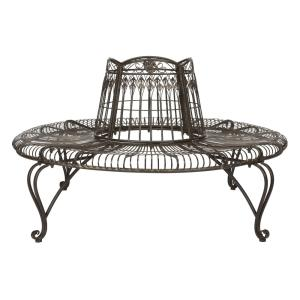 Ally Darling - 60.25 Inch Outdoor Tree Bench