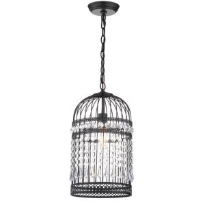 Ellison - One Light Bird Cage Adjustable Pendant
