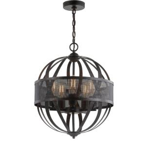 Colby - 24.5 Inch 20W 5 LED Pendant