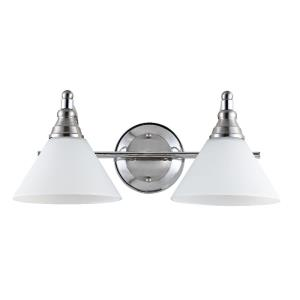 Radnor - 16.88 Inch 8W 2 LED Wall Sconce