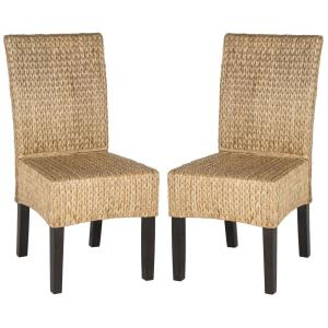 Luz - 39 Inch Wicker Dining Chair (Set of 2)