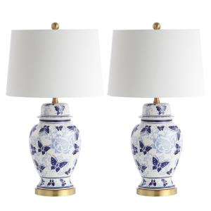 "Hana - 28"" 9W 1 LED Table Lamp (Set of 2)"