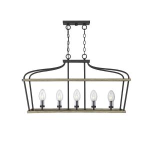Danbury - Five Light Outdoor Chandelier