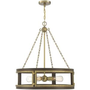 4 Light Pendant-28.5 inches tall by 26 inches wide