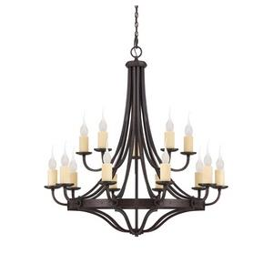 Elba Chandelier 15 Light