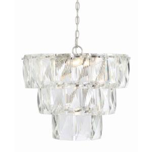 7 Light Chandelier-Contemporary Style with Shabby Chic and Inspirations-17 inches tall by 20 inches wide