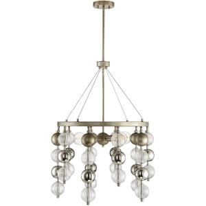 5 Light Chandelier - Glamstyle with Mid-Century Modern and Bohemian inspirations - 32.5 inches tall by 25 inches wide