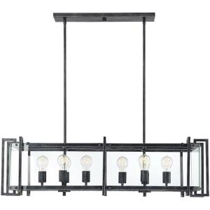Bennington - Eight Light Linear Chandelier