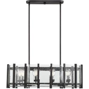 Racine - Eight Light Outdoor Linear Chandelier