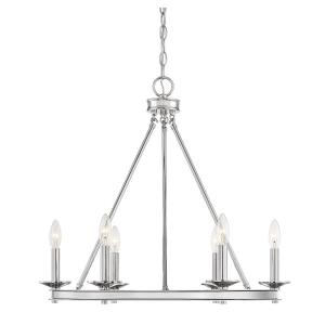 Middleton Chandelier 6 Light  Metal