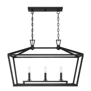Townsend - 3 Light Linear Chandelier