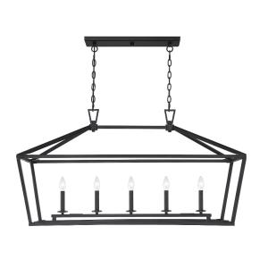 Townsend - 5 Light Linear Chandelier