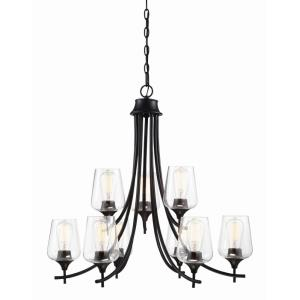 Octave - 9 Light Chandelier