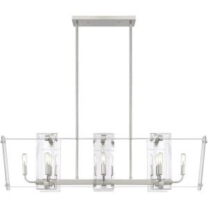 Everett - 8 Light Linear Chandelier
