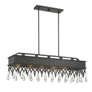 Lenoir - 5 Light Linear Chandelier