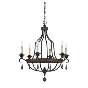 Kelsey - Six Light Chandelier