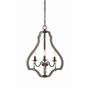 Kenwood - Three Light Foyer Lantern