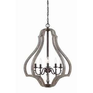 Kenwood - Five Light Foyer Lantern