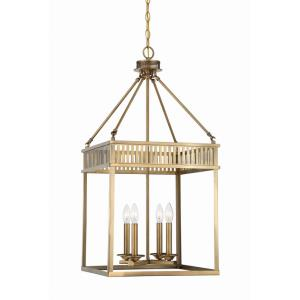William - Four Light Pendant Lantern