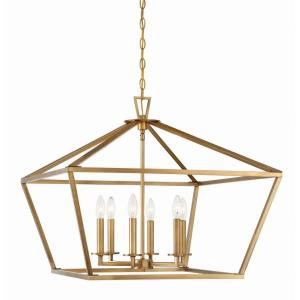 Townsend - Six Light Pendant Lantern