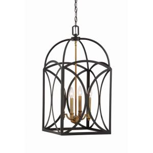 4 Light Medium Foyer-Traditional Style with Bohemian and Transitional Inspirations-28 inches tall by 14 inches wide