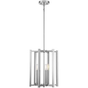 3 Light Pendant-16.5 inches tall by 13 inches wide