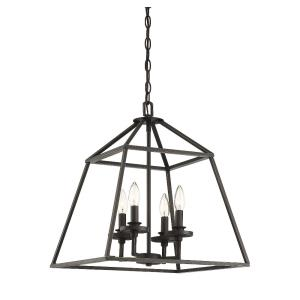 4 Light Foyer-Transitional Style with Contemporary Inspirations-20.13 inches tall by 24 inches wide