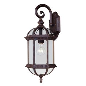 Kensington 20 Inch Outdoor Wall Lantern Traditional Aluminum Approved for Wet Locations