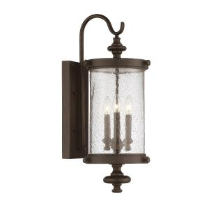 Palmer 26 Inch Outdoor Wall Lantern Transitional Steel Approved for Damp Locations
