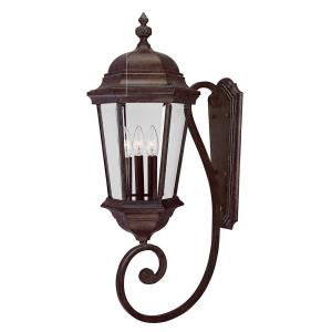 Wakefield - Three Light Outdoor Wall Lantern